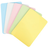 A4 Pastel Coloured Mini Whiteboards