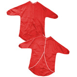 Red Splashproof Aprons