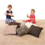 Natural Shades Textured Small Cushions