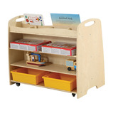 Double Sided Multi-Function Display & Storage Unit