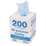 ALL PURPOSE ANTI-BAC CLOTH 200BX YL