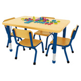 Milan Rectangular 4 Seater Table