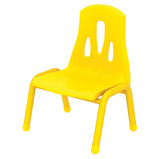THRIFTY CHAIR 310MM PACK 4 YELLOW