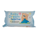 SENSITIVE BABY WIPES 72PK