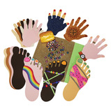 Multicultural Hands and Feet