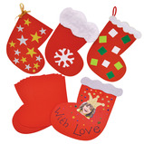 DECORATE YOUR OWN STOCKING PK30