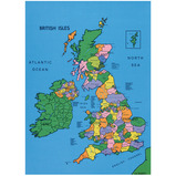 DRYWIPE UK MAP MAT