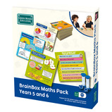 BRAINBOX MATHS PACKS, YEAR 5 AND 6