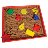 SHAPE NUMBER & OPS SAND SET 42PCS