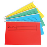 Coloured Foolscap Suspension Files