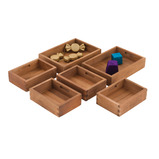 Wooden Sorting Boxes