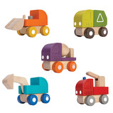 Mini Wooden Vehicle Set