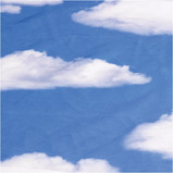 Clouds Display Fabric