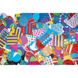 Mega Patterned Paper Mosaics
