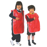 Red PVC Tabard