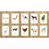 FARM ANIMALS PHOTO BOARD SET