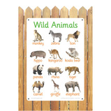 WILD ANIMALS PHOTO BOARD