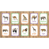 WILD ANIMALS PHOTO BOARD SET