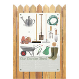 Our Garden Shed A2 Outdoor Board