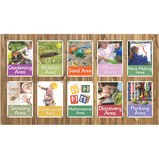 LEARNING AREA SIGNS - SET OF 10