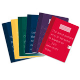 "9"" x 7"" 120 Page Arcadia Quotes Exercise Books"