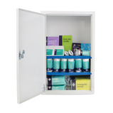 STOCKED FIRST AID CABINET SMALL