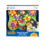 BUILD & SPIN FLOWER GARDEN SET