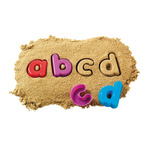 Lowercase Alphabet Sand Moulds