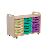 PLAYSCAPES TRAY 3 CLMN 18 BLUE
