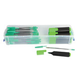 TC MARKING BOX B/P HL GREEN