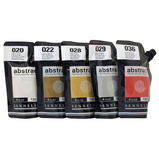 Sennelier Abstract Metallic Acrylic Paint Set