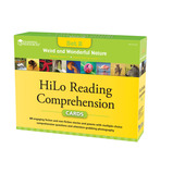 HiLo Reading Comprehension Cards Weird and Wonderful Nature