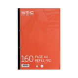 VR SBP REFIL A4 8MMFM RED 80P PK10