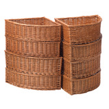 Wicker Corner Baskets