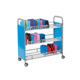 CALLERO LUNCHBOX TROLLEY CYAN
