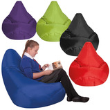 BIG DEAL Large Bean Bag Reading Chairs 5 Pack Bundle
