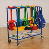 Outdoor Art Storage Trolley
