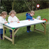 Low Outdoor Mark Making Table