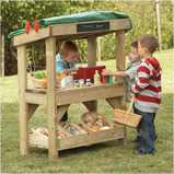 OUTDOOR WOODEN ROLE PLAY SHOP