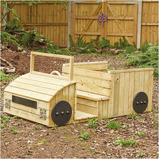 Outdoor Wooden Truck