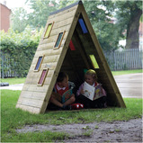 Outdoor Triangular Rainbow Den