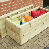 Outdoor Wooden Storage Chest