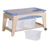 SAND AND WATER STATION 59CM WITH 3 TUBS