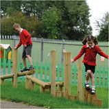 Outdoor Balance and Agility Trail