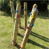 Totem Climbing Poles Safety Surfacing