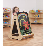 Double Sided Chalkboard Easel