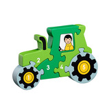 1-5 Puzzles Tractor Bus Train