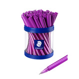 STAEDTLER PURPLE BALLPOINTS PK40