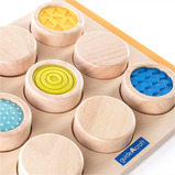 Tactile Search and Match Puzzle