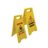 Dual Sided Floor Sign